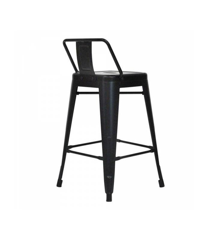 tabouret snacking plan de travail spycker noir mat h gen. Black Bedroom Furniture Sets. Home Design Ideas