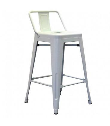 tabouret snacking plan de travail spycker blanc mat h gen. Black Bedroom Furniture Sets. Home Design Ideas
