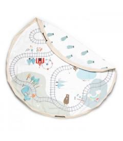 Trainmap/Bears Toy - Sac de Rangement de Jouets