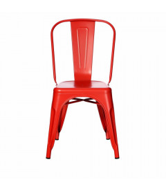 Chaise Dallas Rouge