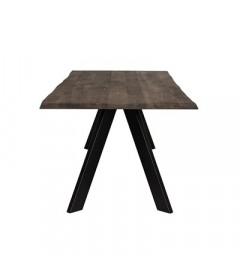 Table A Manger Raw Chêne Brute 200cm - 8 Personnes