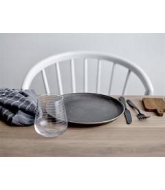 Table A Manger Cozy Chêne 200cm Pieds Blancs - Bloomingville - 8 Personnes