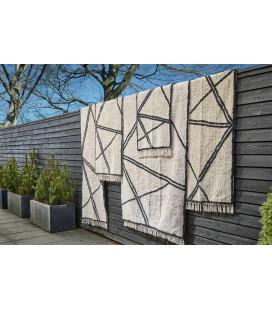 Petit Tapis Style Berbère 100% Coton L 90cm W 60cm