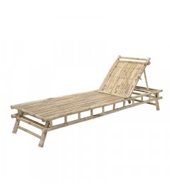 Chaise Longue Sole Bambou - Outdoor Bloomingville