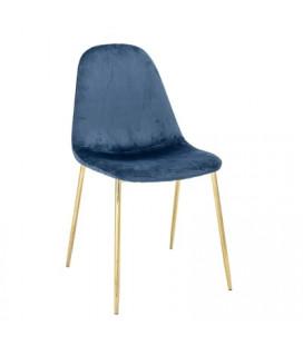 Chaise Bloom Em Bleue Gold Bloomingville