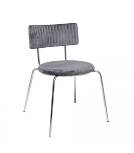 Chaise Wave Gris Bloomingville
