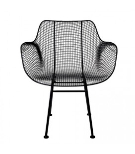 Fauteuil Tide Black Bloomingville