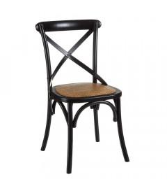 Chaise Bristol Aspas Noir