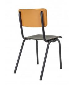 Chaise Serax Vincent Noir Curry Cadre Noir