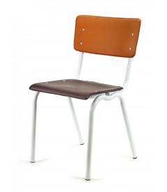 Chaise Serax Vincent Violet Orange Cadre Blanc