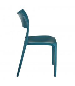 Chaises X2 Sole Empilables Bleu