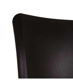 Chaises X2 Sole Empilables Noir