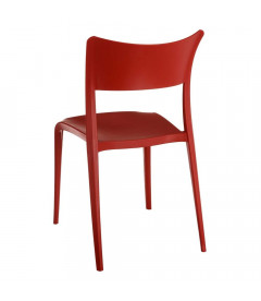 Chaises X2 Sole Empilables Rouge