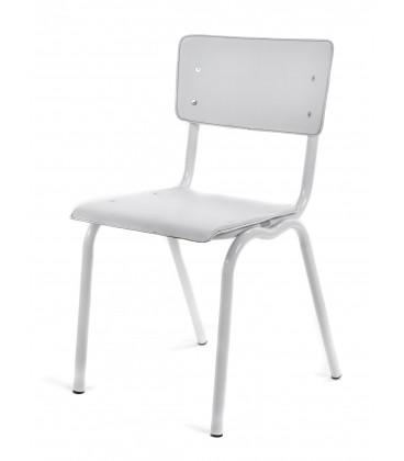 Chaise Serax Vincent Blanc Blanc Cadre Blanc
