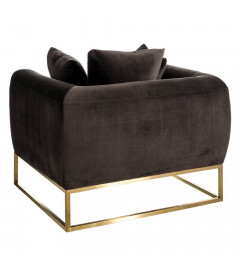 Fauteuil Gallega Taupe