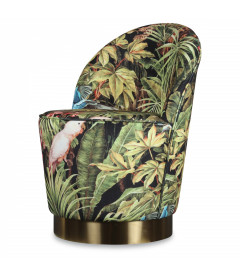 Fauteuil Serge Jungle