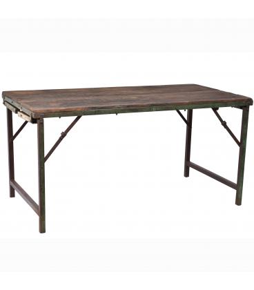Table A Manger Vieux Bois 153cm