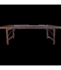 Table A Manger Vieux Bois 250cm