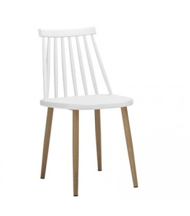 Lot de 2 Chaises Bajo White - Outdoor Bloomingville
