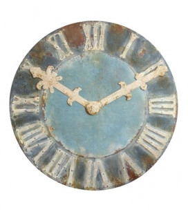 Horloge Mural Château XXL 120cm - Uniquement décorative