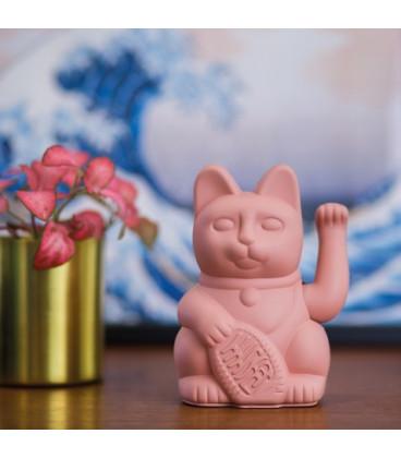 Chat Porte-Bonheur Maneki-Neko Rose
