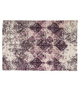 Tapis de Salon Purple 100% Coton L 180cm - W 120cm