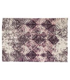 Tapis de Salon Purple 100% Coton L 180cm - W 120cm