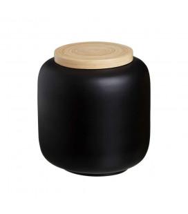 Boite Bambou Noir 22cm