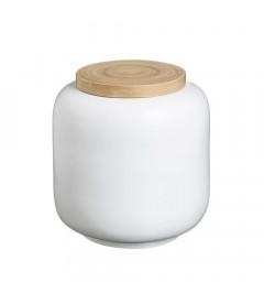 Boite Bambou Blanc 22cm