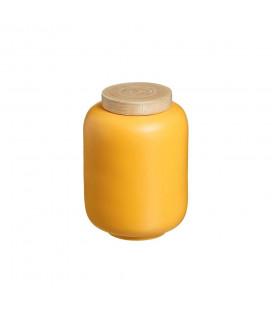 Boite Bambou Moutarde 16cm