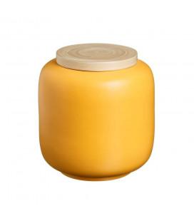 Boite Bambou Moutarde 22cm