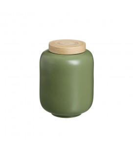 Boite Bambou Vert 16cm