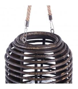 Lanterne Rotin 23cm