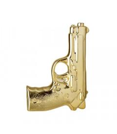 Vase Pistolet Gold Bloomingville