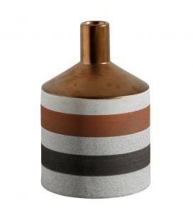 Vase Grey Gold Céramique 14X22cm