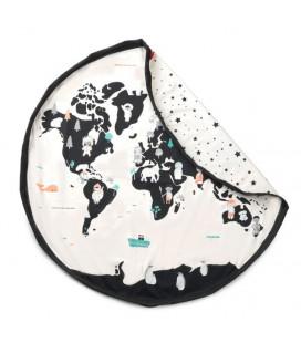 Worldmap - Sac de Rangement de Jouets