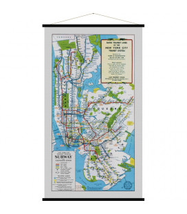 Carte New York City MEDIUM