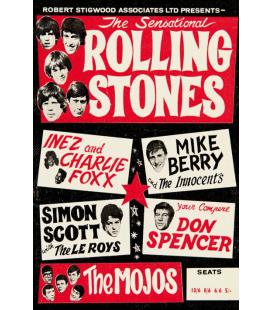 Toile sur Chassis Concert Rolling Stones [40/60cm]