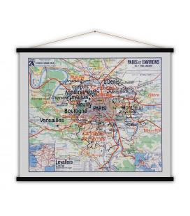 Carte Paris et environs MEDIUM