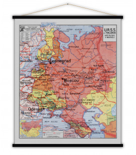 Carte URSS MEDIUM
