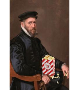 Affiche Portrait Mister Pop Corn [30/40cm]