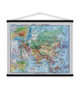 Carte Asie MEDIUM
