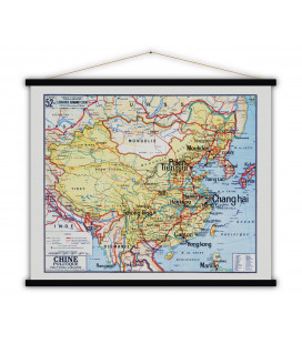Carte Chine Politique MEDIUM