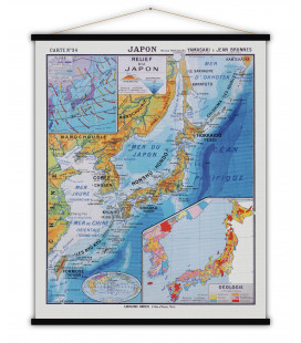 Carte Japon MEDIUM