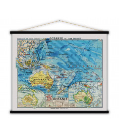 Carte Oceanie MEDIUM
