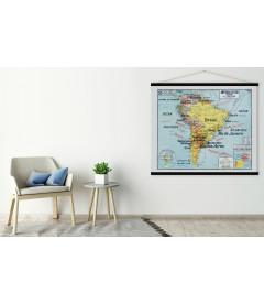Carte Amérique du Sud MEDIUM