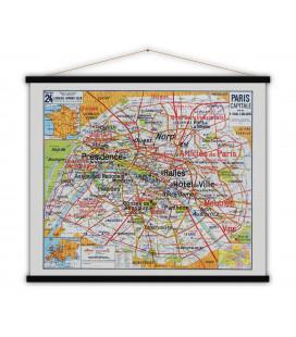 Carte Paris Capitale XL