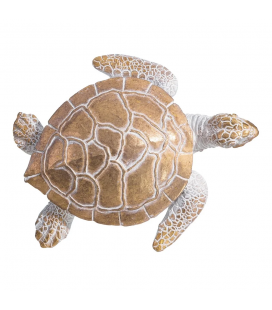 Tortue Or Vieux 15cm