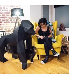 Gorille XXL Noir DIY - Colle Offerte