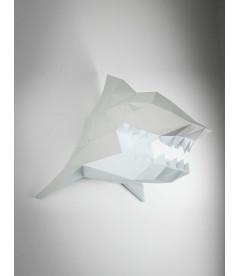 Tête de Requin Gris & Blanc DIY - Colle Offerte